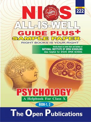 NIOS-222 PSYCHOLOGY BOOKS