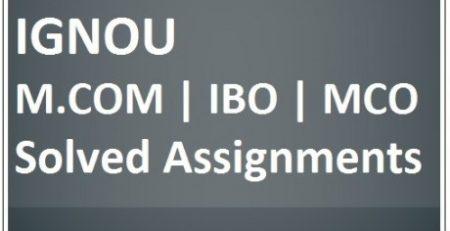 Ignou solved Assignment 2018-19   B A, B COM, BDP, SOLVED