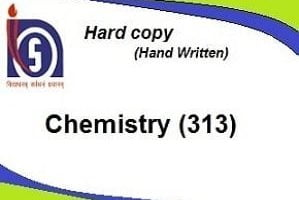 chemistry solved assignment hard copy