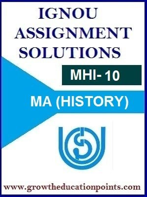 mhi-10 solved assignment