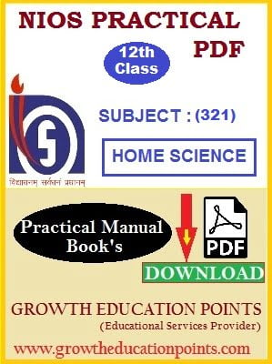 home science 321 practical file
