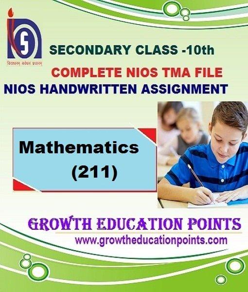 nios math-211 solved assignment